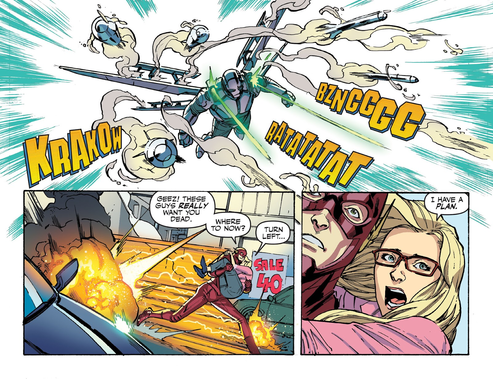 The Flash: Season Zero [I] Issue #10 #10 - English 8