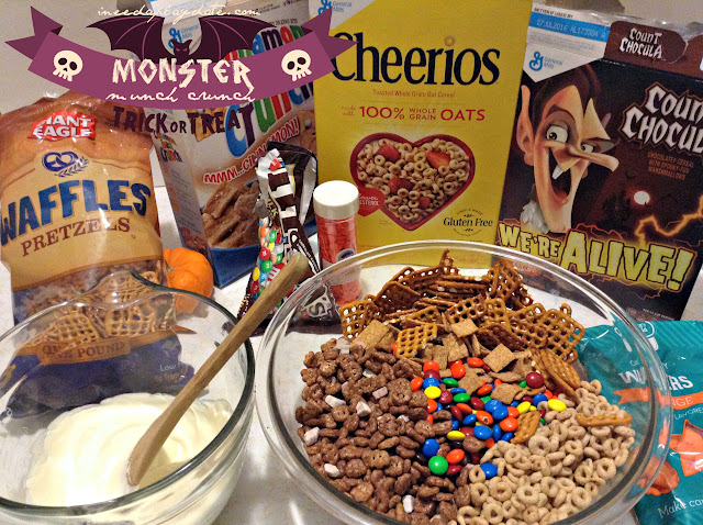 Monster Munch Cereal Party Mix Recipe