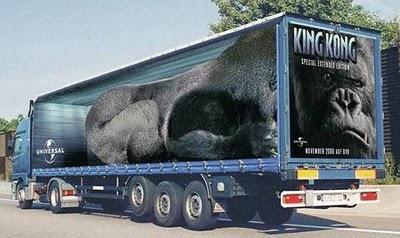 fotos de camiones curiosas publicidad anuncios king kong