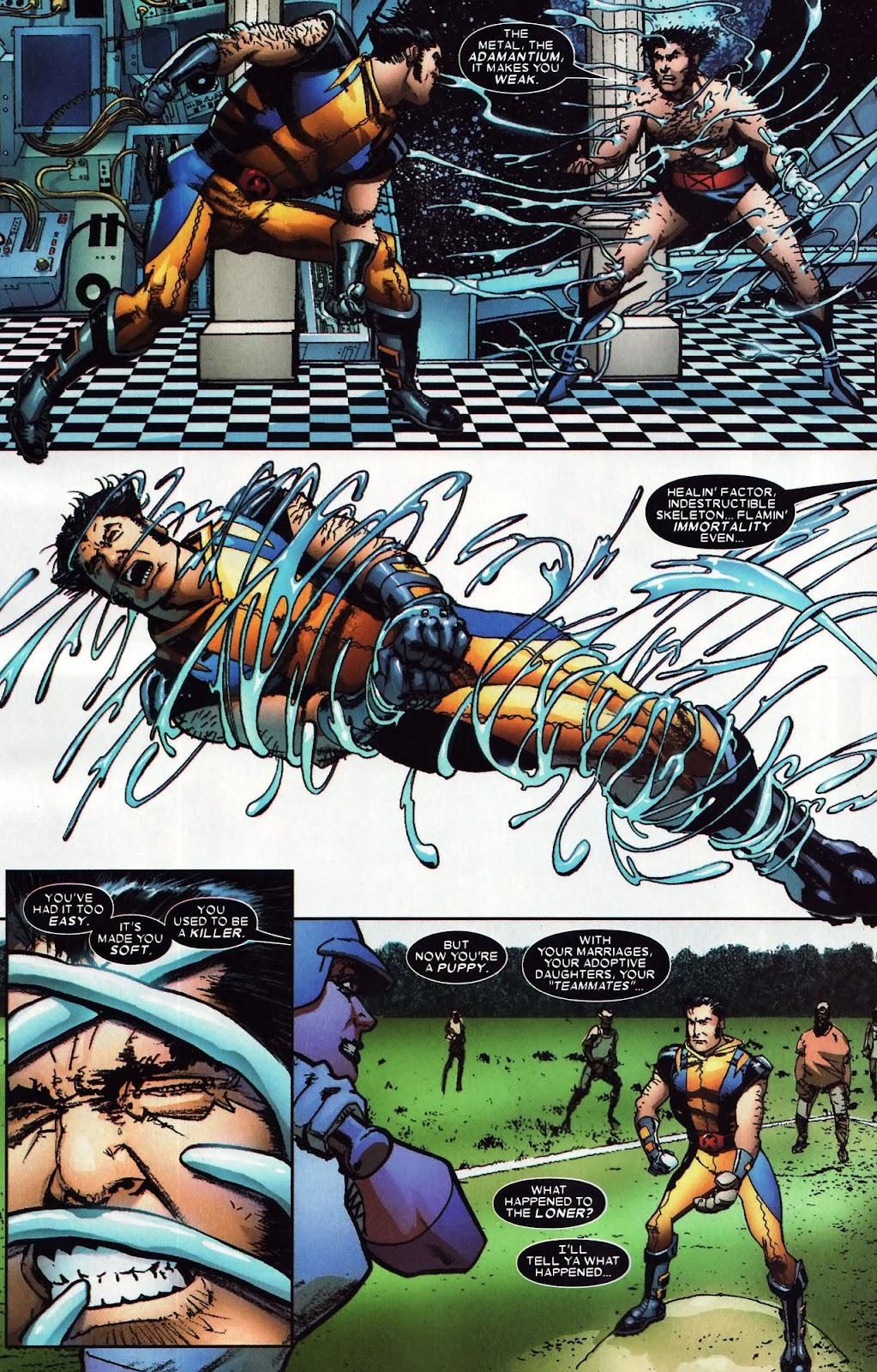 Read online Wolverine (2003) comic -  Issue #59 - 18