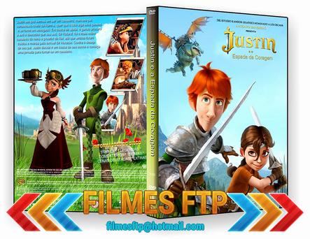 Justin e a Espada da Coragem 2014 DVD-R