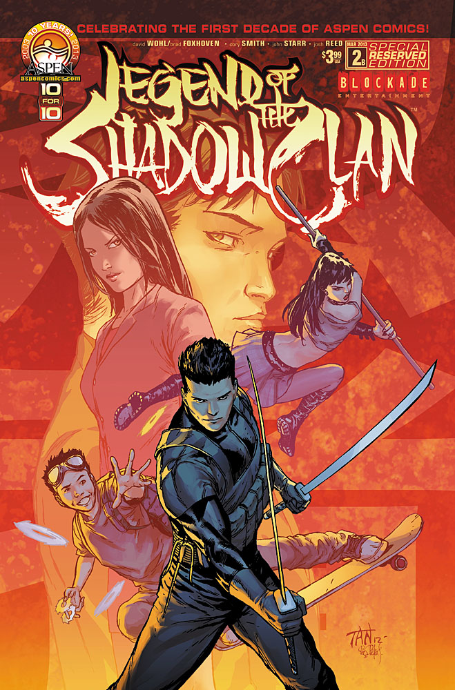 Preview: Legend of the Shadow Clan #2