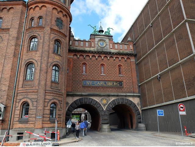 carlsberg city biere musee danemark entree brewery brasserie entree porte gate