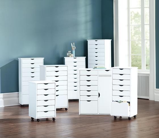 Stanton Mahogany Storage Cabinets