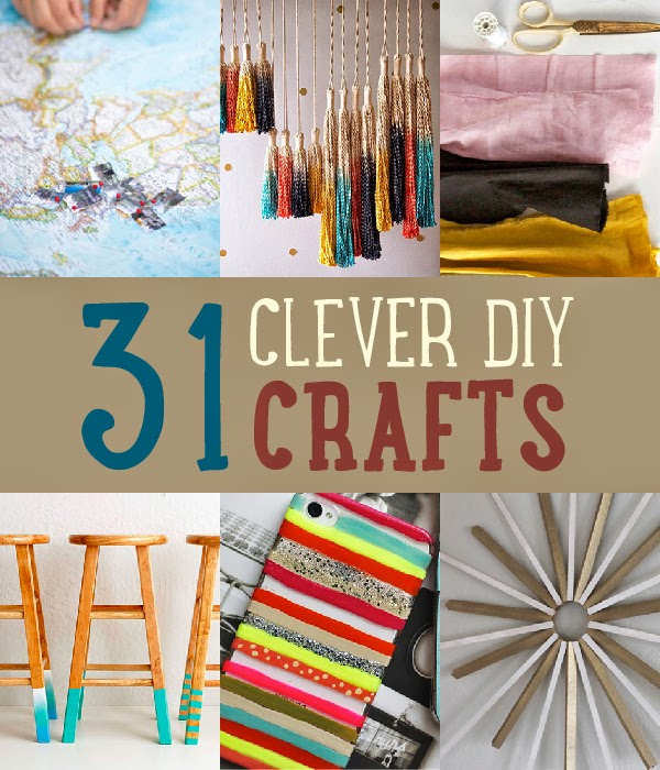 31 insanely clever diy crafts diy craft projects - Insanely easy clever diy projects home ...
