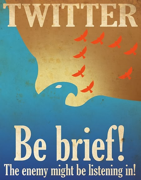 Twitter - Be Brief