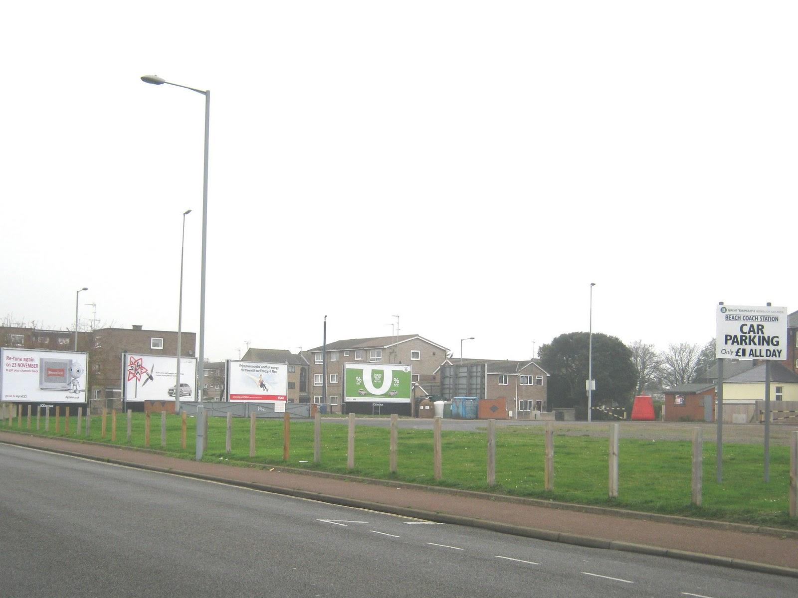 Great Yarmouth Station Car Park
