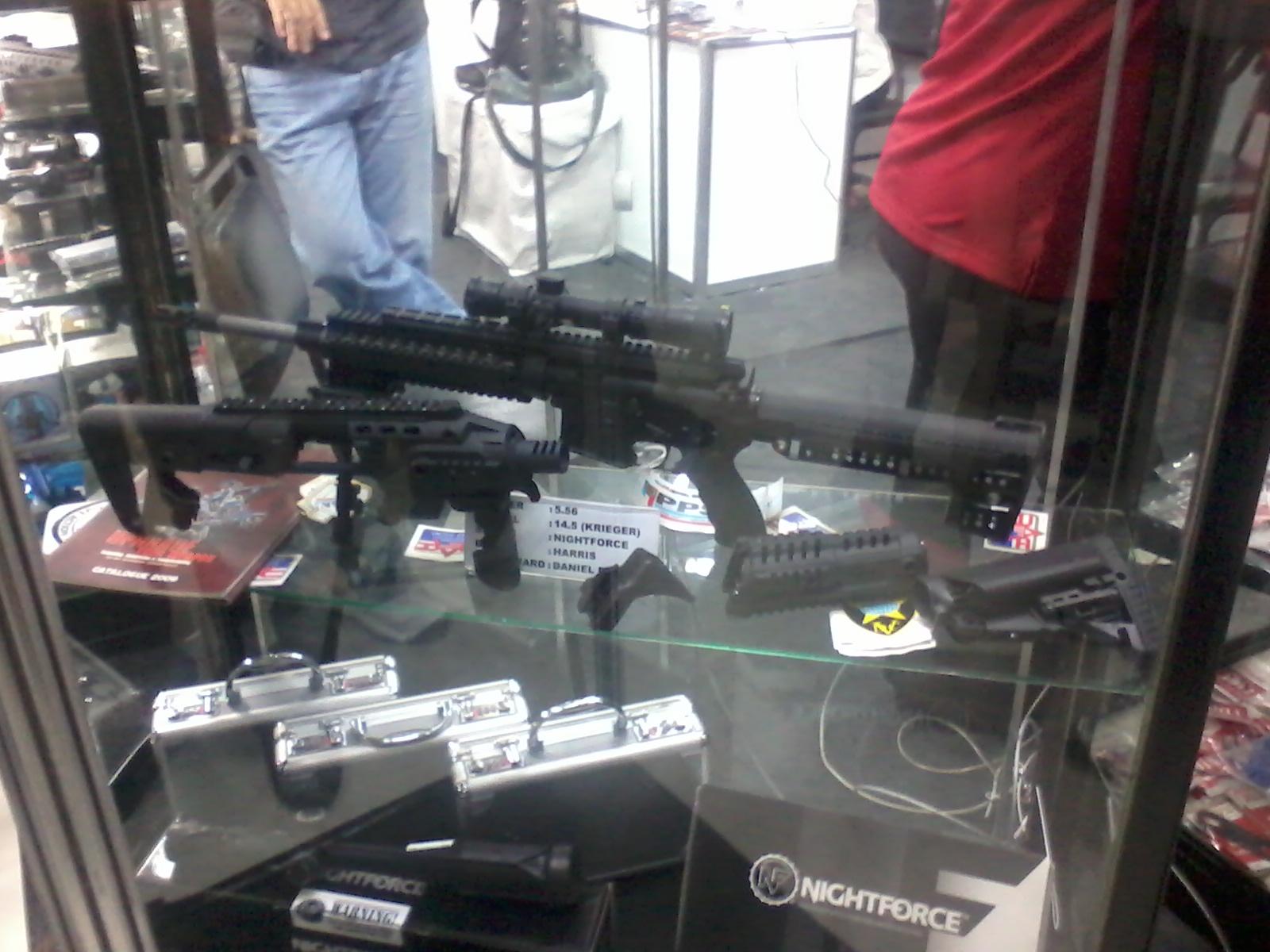 Gun Show at Megamall