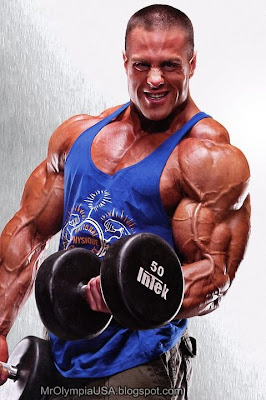 Evan Centopani Biceps Workout Wallpaper 2012