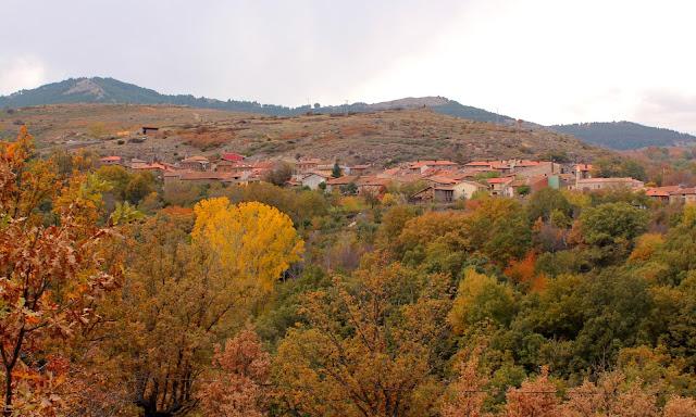 Paisajes de otoño por la Sierra del Rincón. La Hiruela