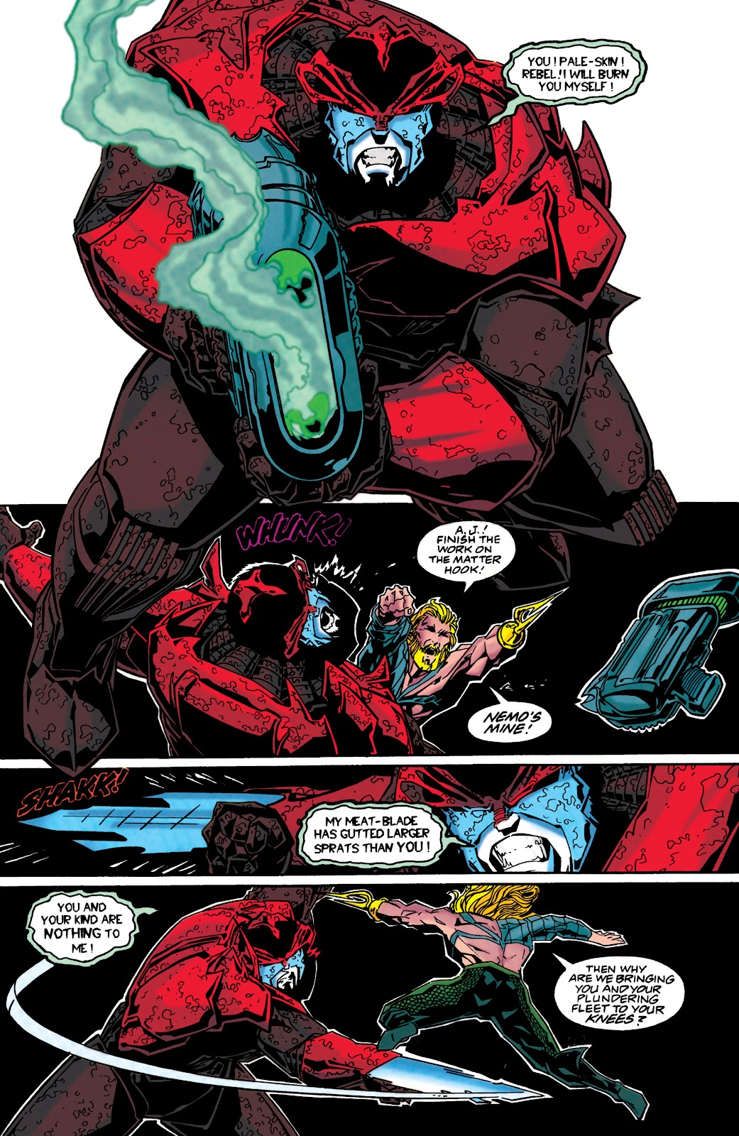 Aquaman (1994) Issue #48 #54 - English 17