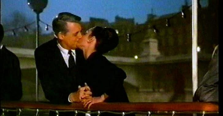 """Cary Grant y Audrey Hepburn en """"Charada"""""""