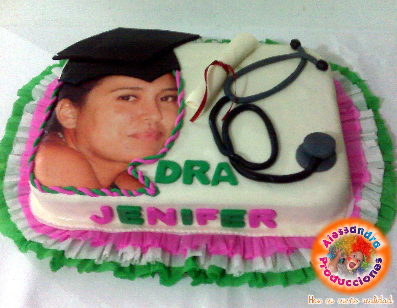 tortas de graduacion decoradas