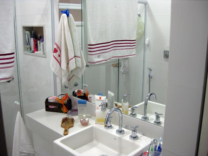 Qual A Altura Do Espelho No Banheiro : Reforma erros na parte