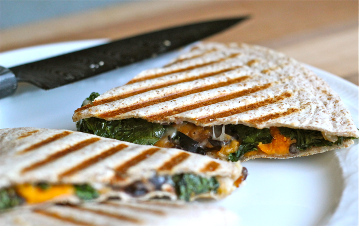 Kale and sweet potato quesadillas: a recipe and some notes | Yankee ...
