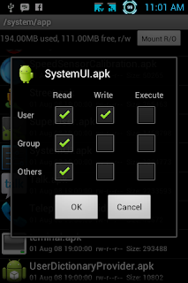 Set Permission SystemUI.apk