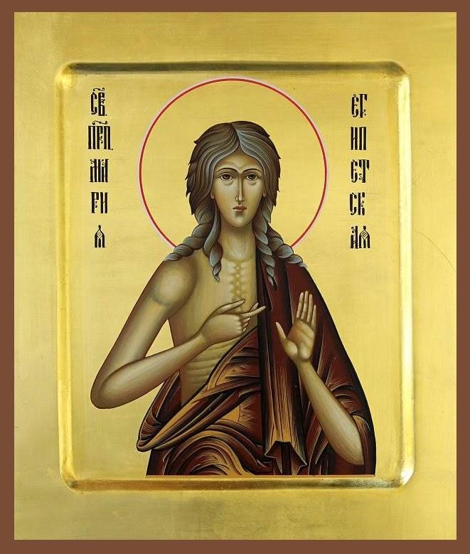 Azi  1 aprilie praznuirea Sfintei Maria Egipteanca !