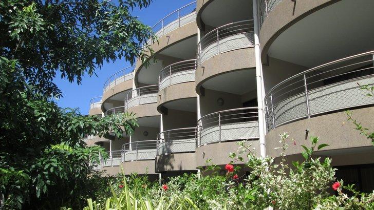Façade sur cour intérieure - Manava Suite Resort Tahiti