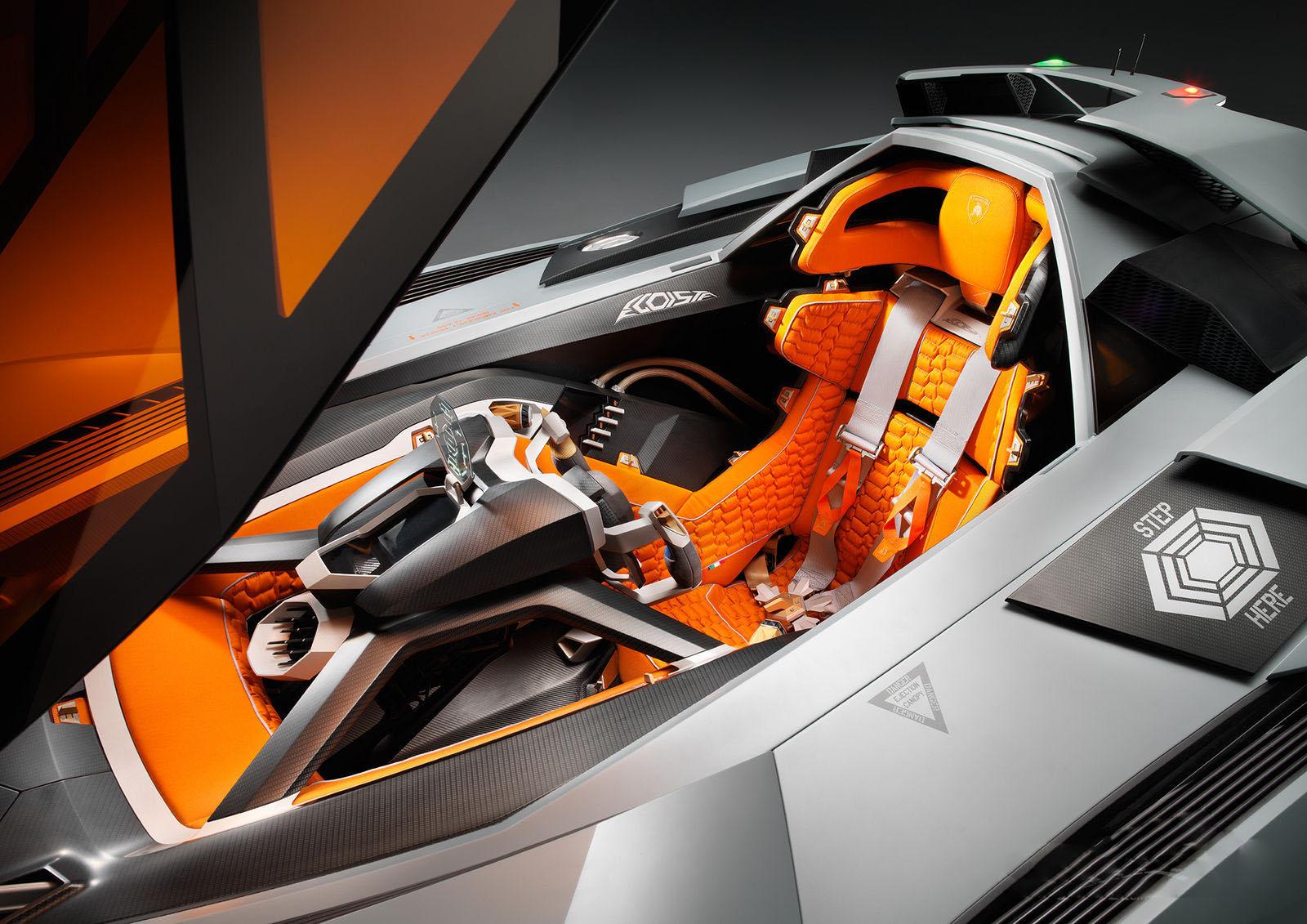 auto Lamborghini Egoista 2013