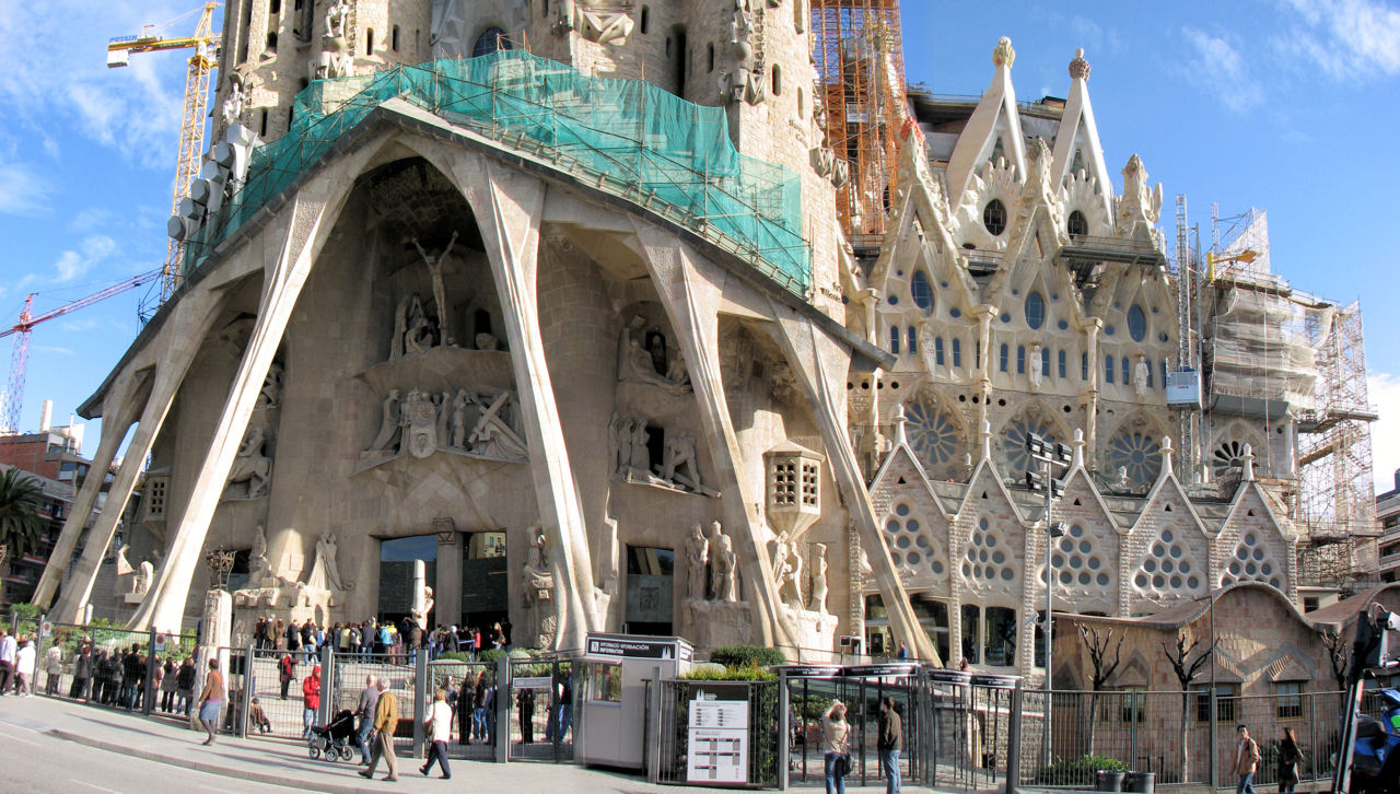 Would you look at that for La sagrada familia en barcelona