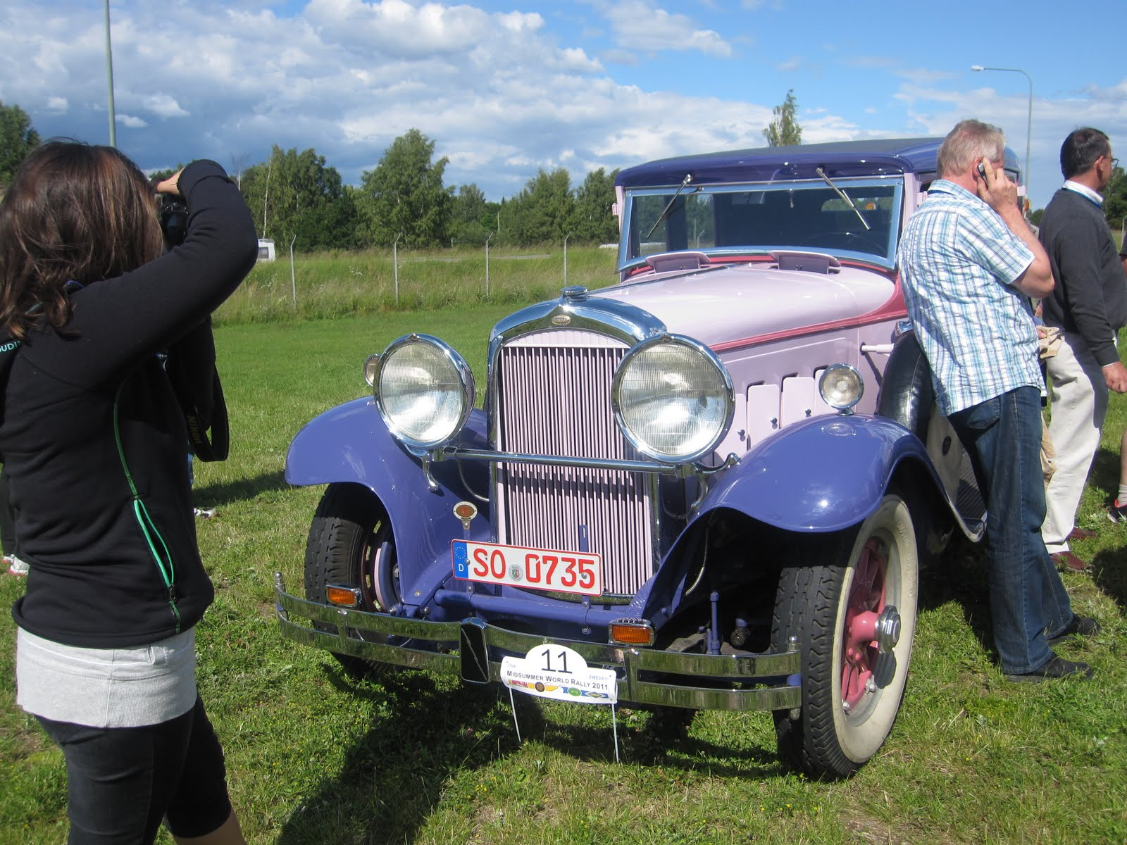 Vintage car show Linköping | Jeanina\'s notebook