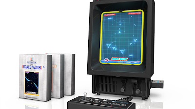 Vectrex with overlays