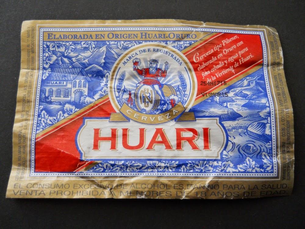 bolivian beer huari