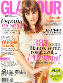 Portada Glamour Abril 2013