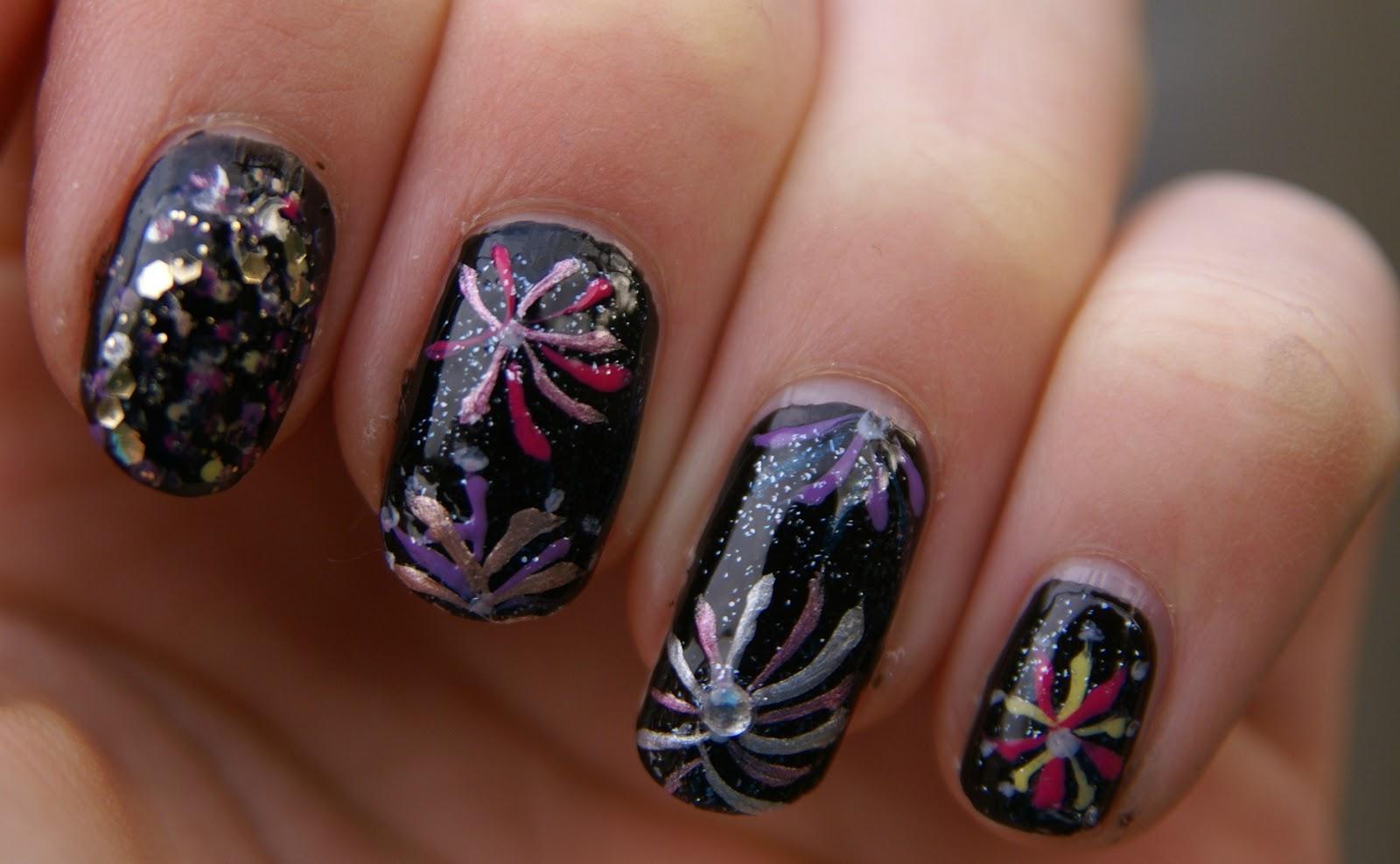 Piinkbeautyprincess Nail Art Firework