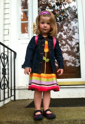 Fact or Fiction, Quirky Kid's First Day of Preschool ~ thequirkyconfessions.com