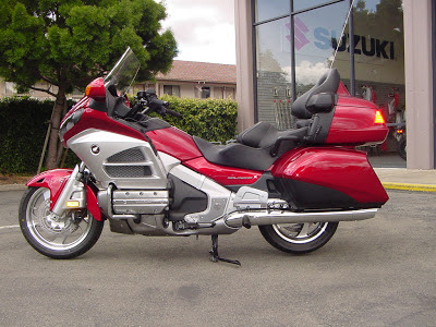Honda Touring New Goldwing Airbag