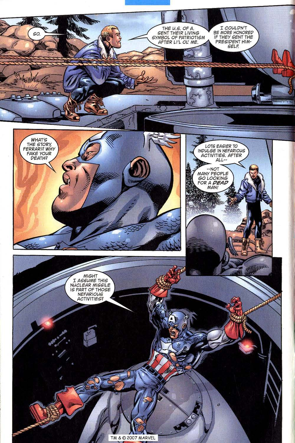 Captain America (1998) Issue #43 #50 - English 6