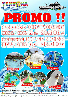 Waterpark - Fish Spot - Culinary - Outbond - Fun Game - Resepsi Pernikahan     DI SINI TEMPATNYA