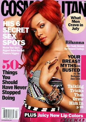 >Rihanna en couv' de Cosmopolitan