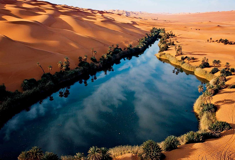 Pix Grove: Fabulous Oasis in The Libyan Sahara Oasis Geography