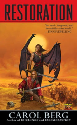 Epic Fantasy Review of Restoration (Rai Kirah Trilogy: Book 3) by Carol Berg