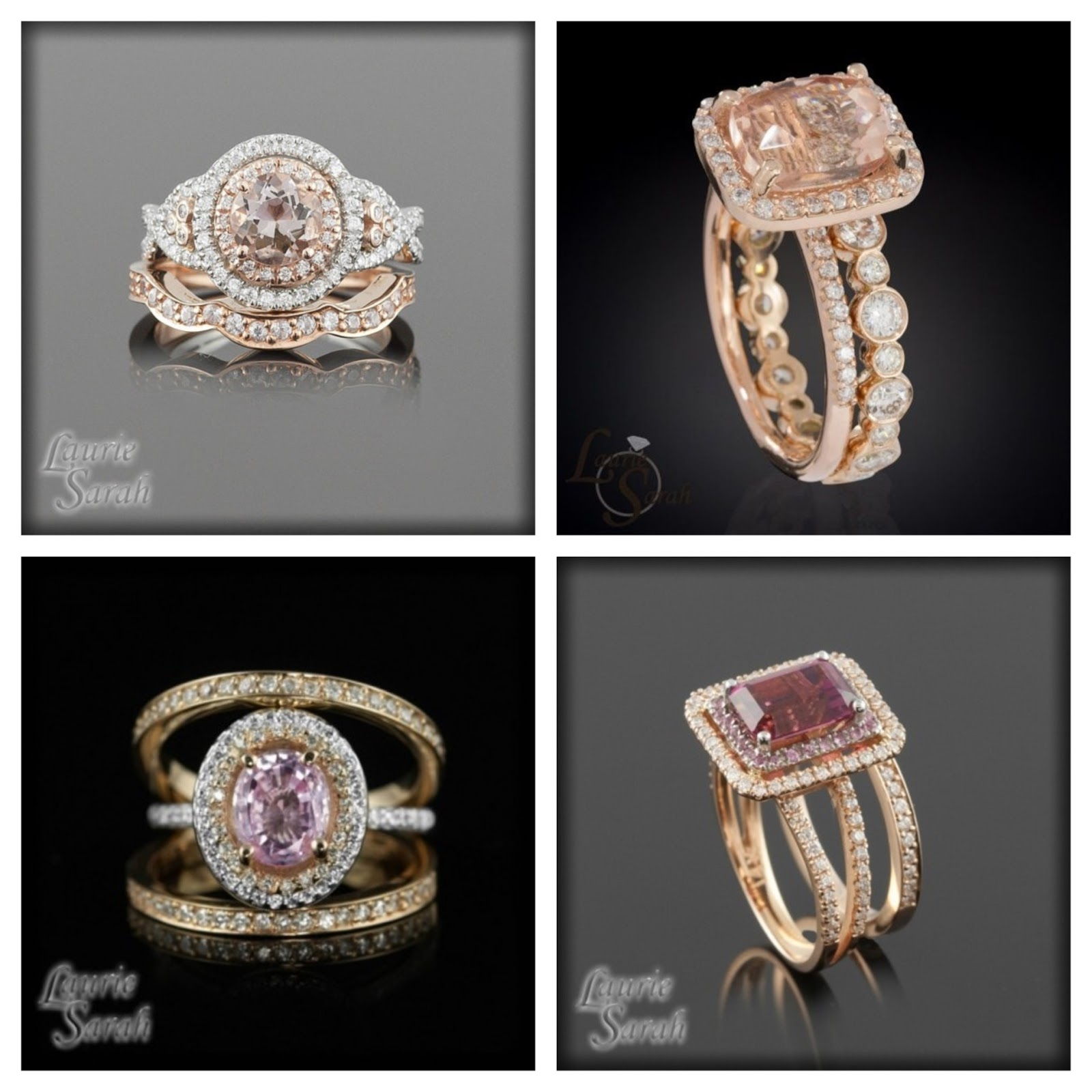 Rose Gold Engagement Rings Design Your Own Rose Gold Engagement Rings