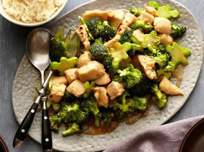 Resep Praktis Tumis Ayam Brokoli Enak