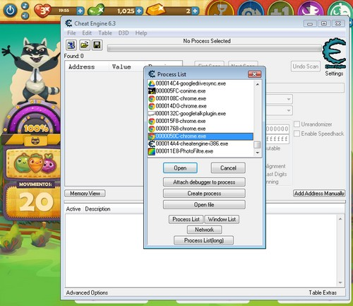 Farm Heroes Saga Cheat Engine