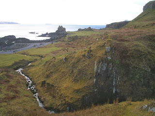 Overlooking the sea, southern part of Isle of Kerrera