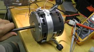 emerson brushless dc ecm blower motor fix