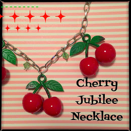 Check out My Cherries Jubilee Necklace