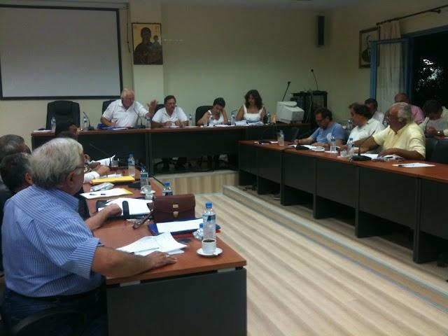 Επιτροπή τουρισμού και παράταση για τον Βιολογικό στο Δ.Σ. Τριφυλίας