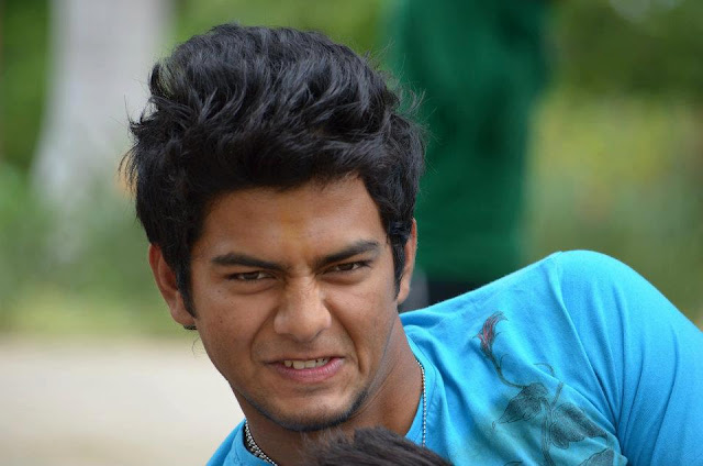 Unmukt Chand enjoying