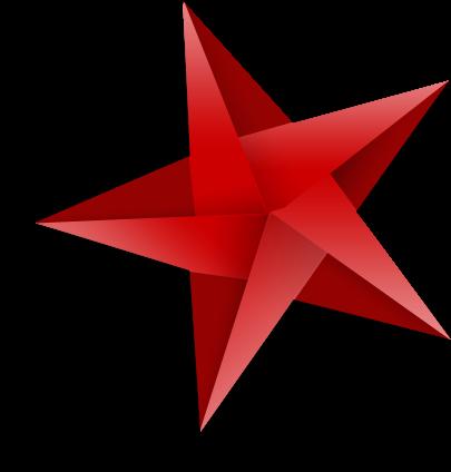 Five pointed origami star - Tuto etoile origami ...