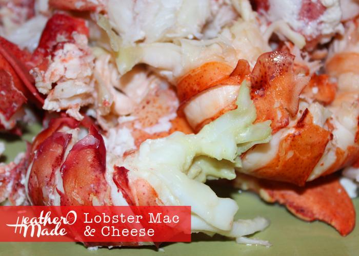 lobster mac & cheese. heatheromade.