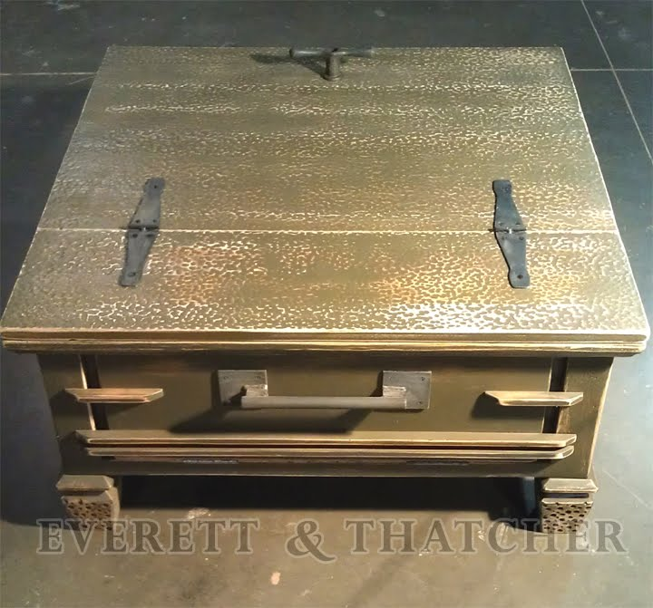 Everett thatcher texture coffee table for Coffee table texture