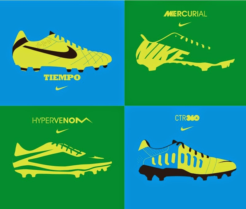 Dise  241 os  vectores y m  225 sNike Football Boots 2014