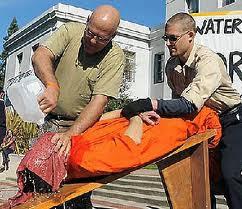 Water torture at Guantanamo Bay