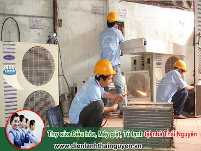 Thợ sửa Điều hòa, Máy giặt, Tủ lạnh tại nhà Thái Nguyên